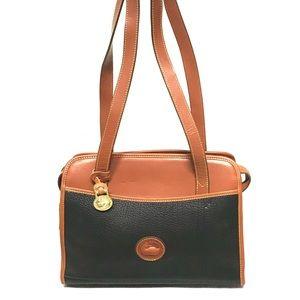 All weather leather Dooney & Burke bag